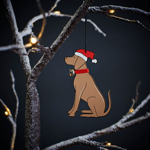 SALE- Hungarian Vizsla Christmas Tree Decoration