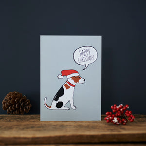 SALE - Jack Russell Christmas Card