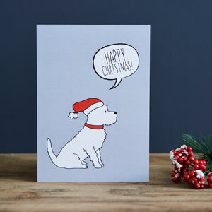 SALE- Westie Christmas Card