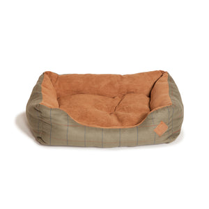 Green Tweed- Snuggle Bed