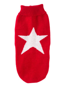 Red Star Christmas Jumper