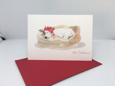 Christmas Card- Jack Russell