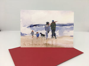 Christmas Card- The Christmas Walk