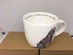 Bone China Mug- Who's Boss