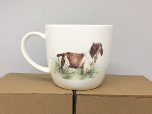 "Bone China Mug- ""It Does What is Says on the Tin"" Spaniel"