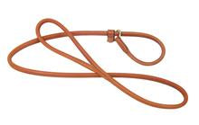 Handmade Rolled Slip Leather dog lead