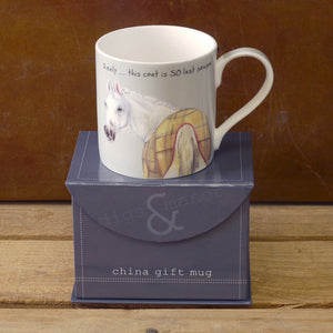 Fine Bone China Horse Mug – Last Season