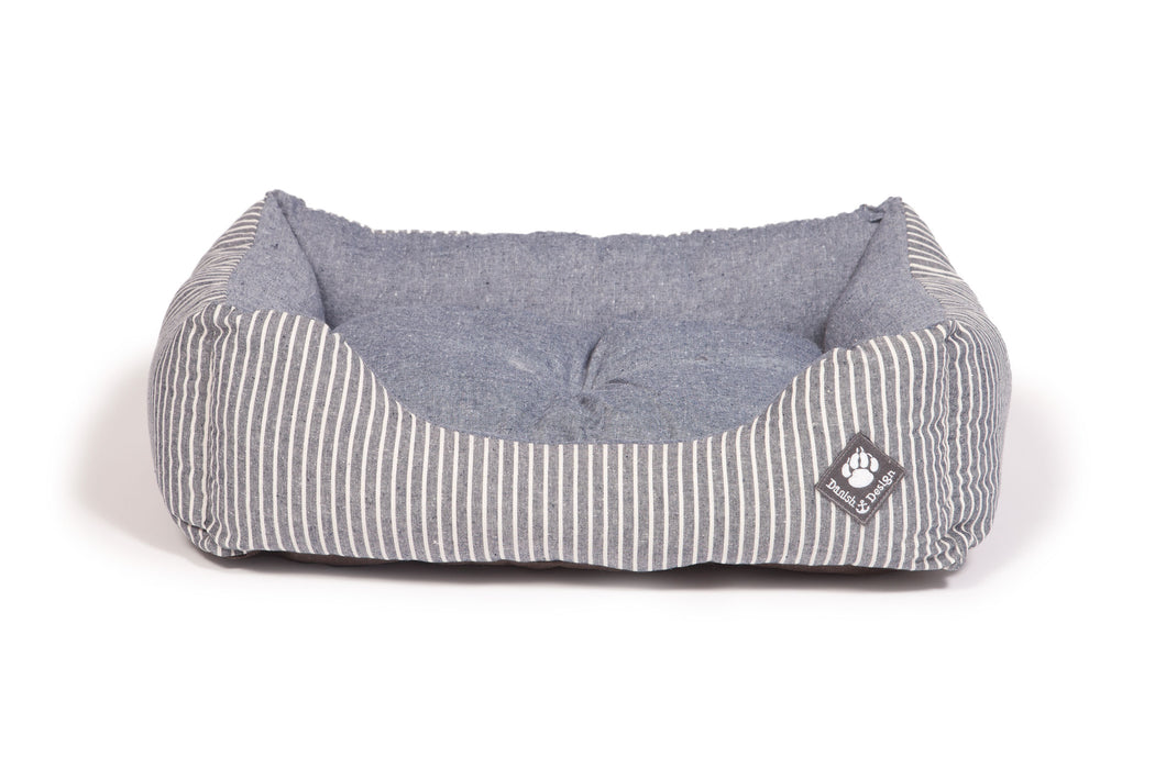 Maritime Snuggle Dog Bed