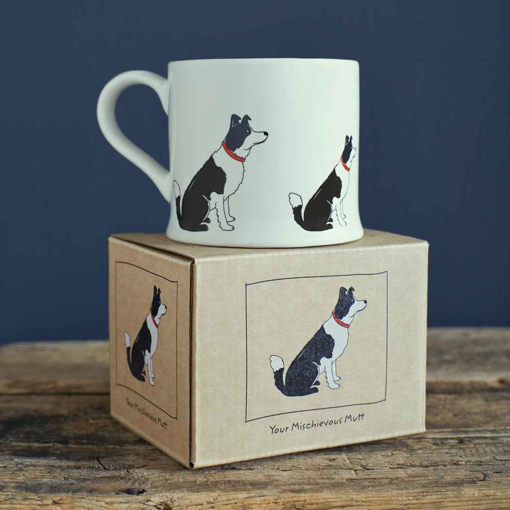 Mischievous Mutts Mug- Border Collie