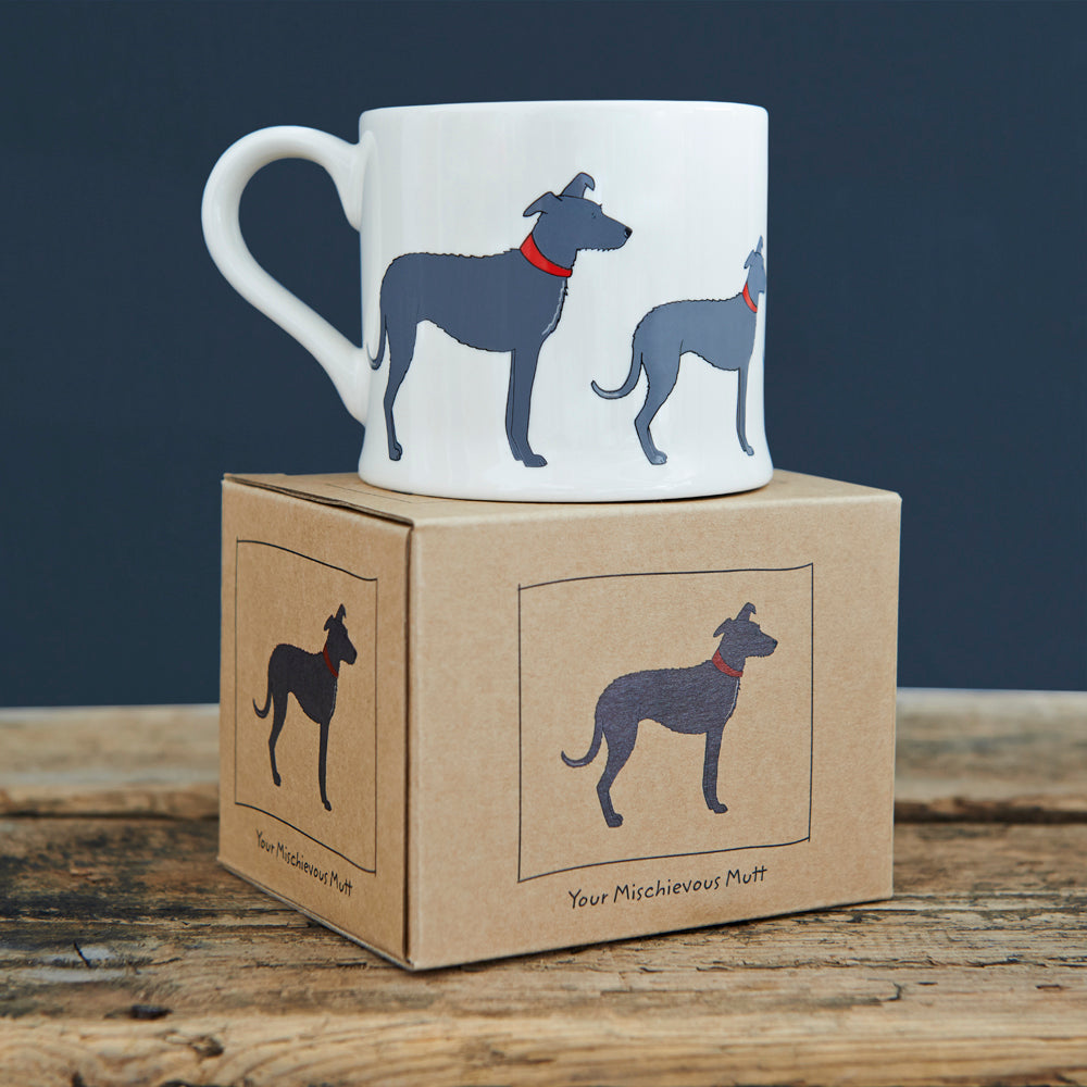 Mischievous Mutts Mugs- Lurcher