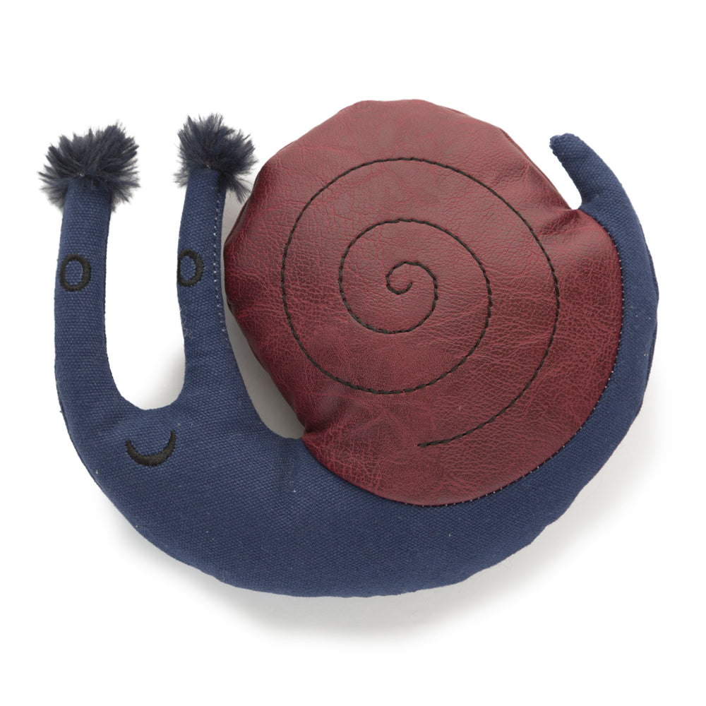 Samuel the Snail Dog Toy- Danish Design
