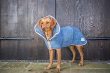 Ruff and Tumble Classic Dog Drying Coat (fabric trim)