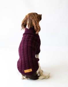 The Scooby Doo Cable Knit Dog Jumper