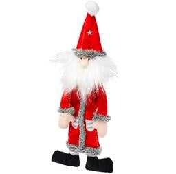 Silent Night stuffing and Squeaker free Santa