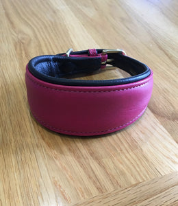 Grey hound/ Whippet/ Lurcher soft leather collar