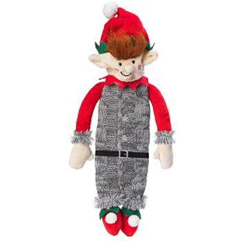 Silent Night stuffing and Squeaker free Elf