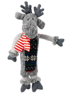 SALE- Silent Night stuffing free Reindeer