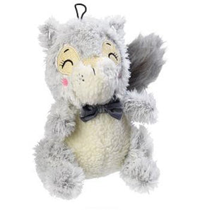 Winter Woodland Squirrel Plush Dog Toy