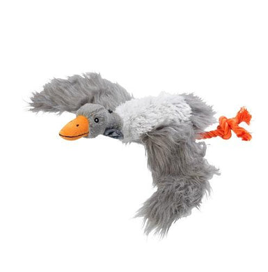 Winter Woodland Goose Plush Dog Toy