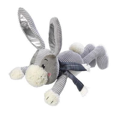 Winter Woodland Hare Plush Dog Toy.
