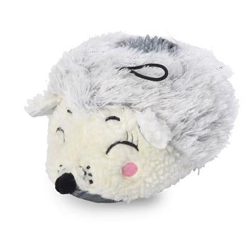 Winter Woodland Hedgehog Plush Dog Toy.