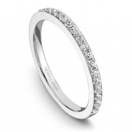 Shared Prong Wedding Band B005-01WM