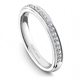 Shared Prong Wedding Band B014-05WM