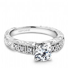 Shared Prong Engagement Ring B057-01WM