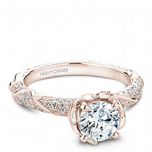 Shared Prong Engagement Ring B081-02RM