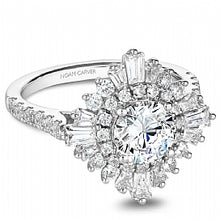 Shared Prong Engagement Ring B246-01WM
