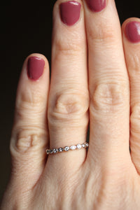 Diamond Stackable or Wedding Band