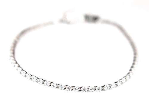 3 Carat Floating Diamond Tennis Bracelet