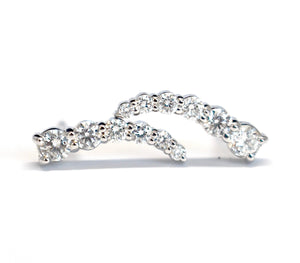 Show Me Some Sparkle Diamond Ear Climbers