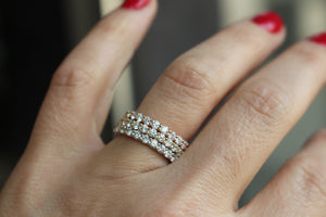 Diamondaire Eternity Wedding Band