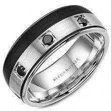 Men's Wedding Band RYL-019WBD85