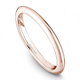 Plain Slim Rose Gold Stackable STE2-2RM