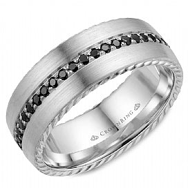 Men's Wedding Band WB-002RD8W