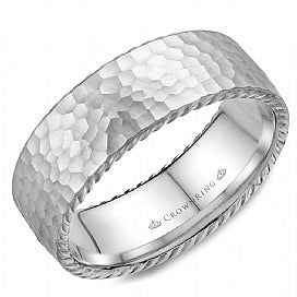 Men's Wedding Band WB-004R8W