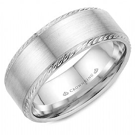 Men's Wedding Band WB-011R8W