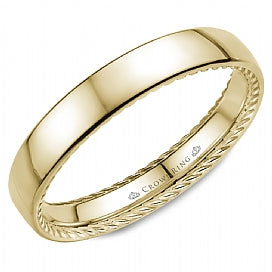 Men's Wedding Band WB-012R35Y