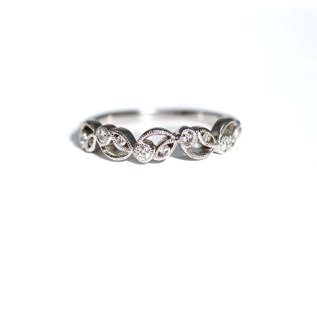 Flower and Vine Diamond Stackable