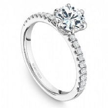 Shared Prong Engagement Ring B245-02WM