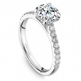 Shared Prong Engagement Ring B238-01WM
