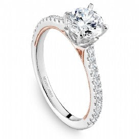Shared Prong Engagement Ring B320-01WRM