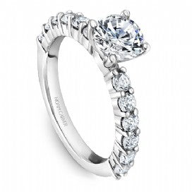 Shared Prong Engagement Ring B178-02WM