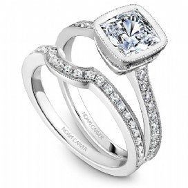 Shared Prong Engagement Ring B026-02WM