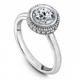 Solitaire Engagement Ring R016-01WM
