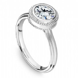 Solitaire Engagement Ring R006-01WM