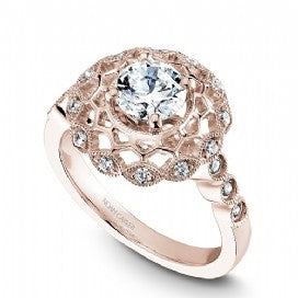 Halo Engagement Ring B068-01RM