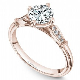 Shared Prong Engagement Ring B268-01RA